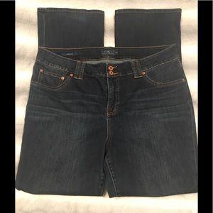 "LUCKY BRAND ""Emma"" boot dark wash size 18W"
